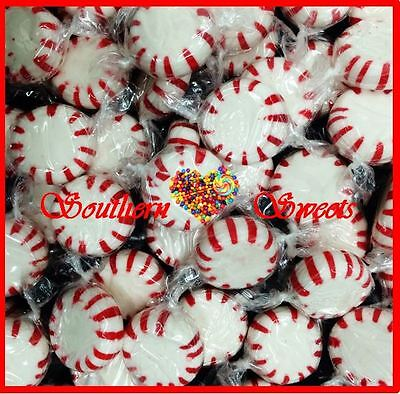 Red & White Lollies Candy Starlite Pinwheels 1Kg 165Ct Starlights