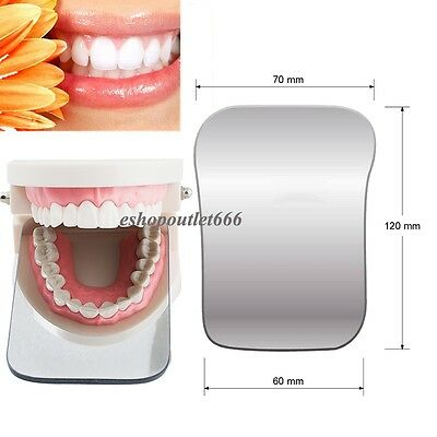 2sided Orthodontic Dental Glass Photographic Mirror Intraoral Rhodium Occlusal