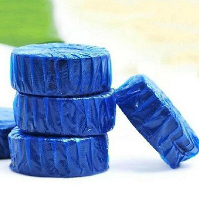 3PCS Blue Bubble Automatic Toilet Bowl Antibacterial Cleaning Tabs Cleaner Hot