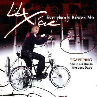 Everybody Knows Me - Lil Xae (2009, CD NUOVO)