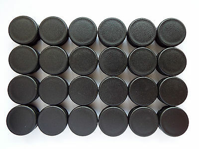 40mm Tube End Caps For PVC Pipe Dog Agility Poles X 24 off
