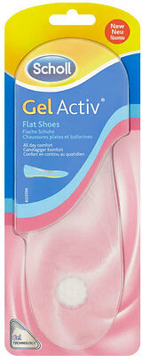 Scholl Gel Activ Flat Shoes Insoles **1 Pair**