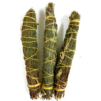 Native Smudge Stick MANIFEST with Rose Leaf Bramble Incense Spiritual Hippie
