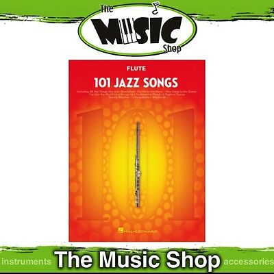 New 101 Jazz Songs for Flute Music Book - Flute Songbook