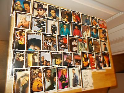 COUNTRY MUSIC ASSOCIATION (CMA) Set of 41 Country Gold Cards from 1992