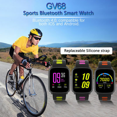 Bluetooth Waterproof Smart Watch SIRI Phone Mate For Android IOS Samsung iPhone