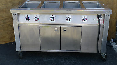 Servolift  Eastern 4 Hole Well Bay Serving Counter 501-4Hc 208V