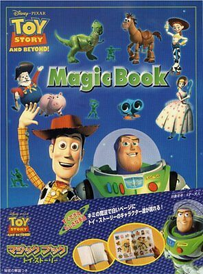 Tenyo MAGIC BOOK TOY STORY Magic Trick Disney New Japan
