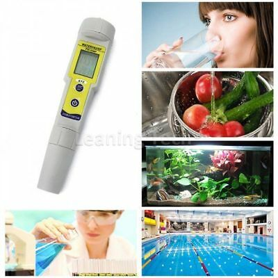 Auto Calibration Digital PH Tester Meter Thermometer Kit Waterproof Pocket Pen