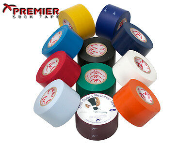 1 x PREMIER SOCK TAPE PST SHIN PAD GUARD RETAINER TAPE 38MM - VARIOUS COLOURS