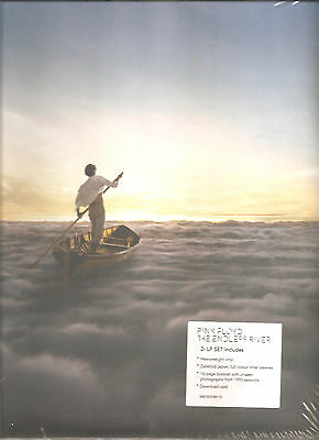 "PINK FLOYD ""The Endless River"" 18 Track 2LP VINYL + 16page Booklet + Download"