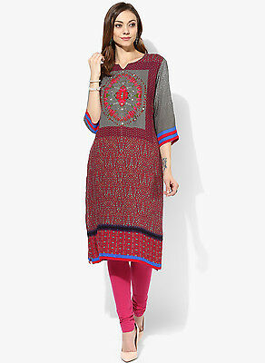 Indian Bollywood Kurta Kurti Designer Women Ethnic Dress Top Women Clothing