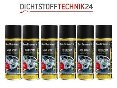 6x Den Braven Zinkspray 400ml
