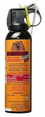 Bear Spray - Maximum Range & Maximum Strength - 9 Meters (225 gm)