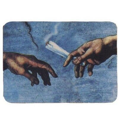 FUN - Michel Angelo Hands - Aufkleber Sticker - Neu #270 - Drugs Joint