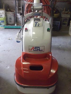 Asl T2 Concrete Grinding And Floor Polishing Machine