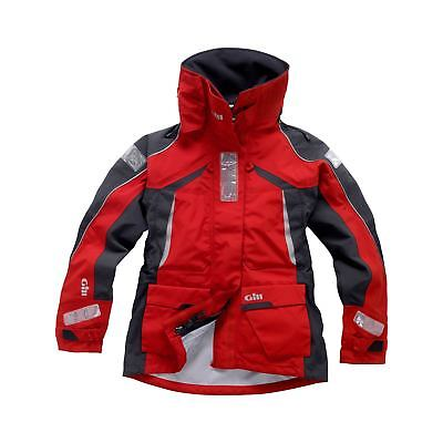 Gill OS1 Sailing Womens Jacket 2017 - Red/Graphite