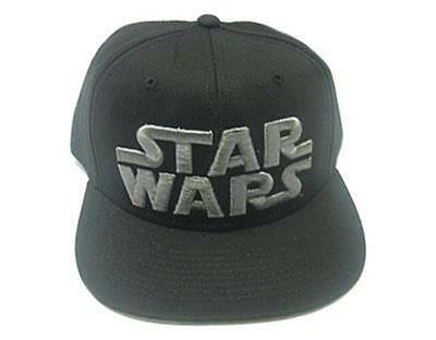 Official Licensed - Star Wars - Logo Contrast Baseball Cap Snapback Jedi Vader