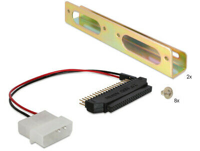 """Delock Adapter HDD 2,5"""" to 3.5"""" including metal bracket / install 2.5HDD>3.5slot"""