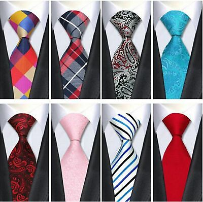 100% jacquard woven silk necktie business wedding party formal Ties For Men
