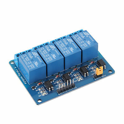 4 Channel 5V Relay Module Board Shield For PIC AVR DSP ARM MCU for Arduino CC
