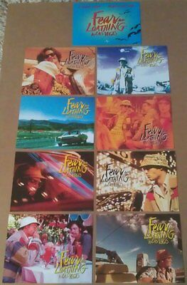 FEAR AND LOATHING IN LAS VEGAS MOVIE POSTER LOBBY CARD SET OF 9 ORIGINAL 8x10