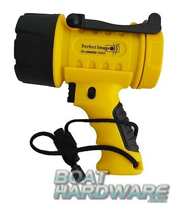 Floating Torch Waterproof 300 LED Safety Spotlight Emergency Flashlight YELLOW