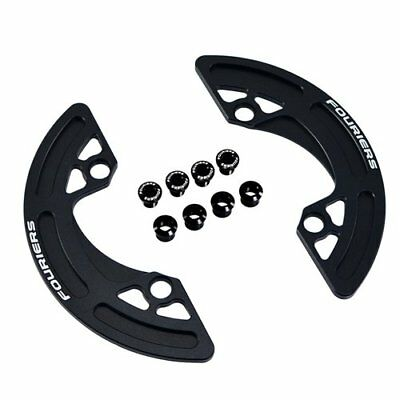 FOURIERS CG-DX002 MTB CNC Chainring P.C.D 104mm Chain Ring Guard 38-40T, Black