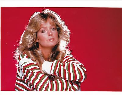 FARRAH FAWCETT RARE 8X10 CHARLIES ANGELS PHOTO #h003