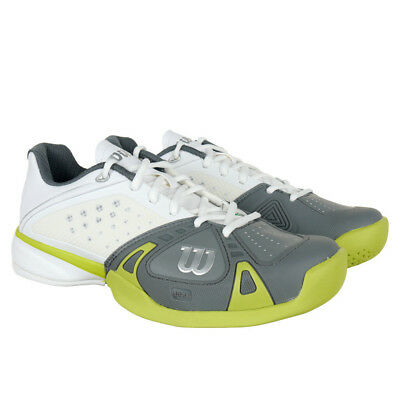 Wilson Men's Tennis shoes Trainers Rush Pro HC white-grey
