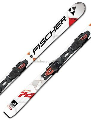 Fischer MOTIVE 74 15/16 Allmountain Carver Carving Skiset Alpin Schi Set NEU