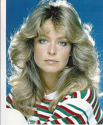 FARRAH FAWCETT RARE 8X10 CHARLIES ANGELS PHOTO #h008