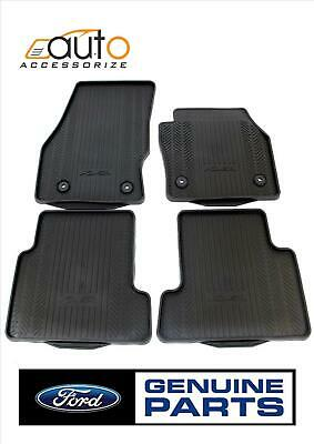 Genuine FORD KUGA 2013 Front & Rear Rubber Floor Mats Set Tailored Fit 1928463