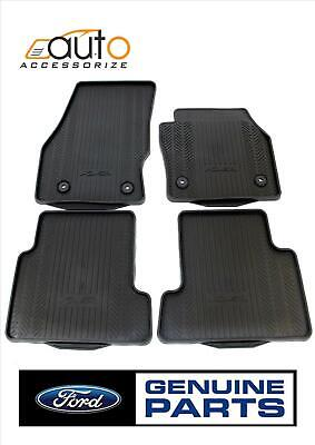Genuine FORD KUGA 2015 Front & Rear Rubber Floor Mats Set Tailored Fit 1928463