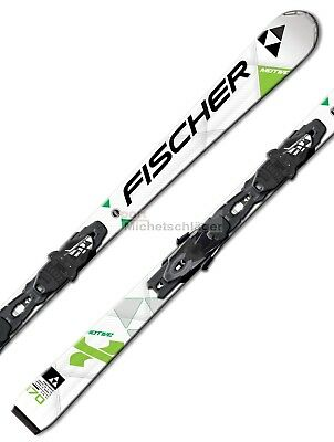 Fischer MOTIVE X 15/16 Allmountain Carver Carving Skiset Alpin Schi Set NEU