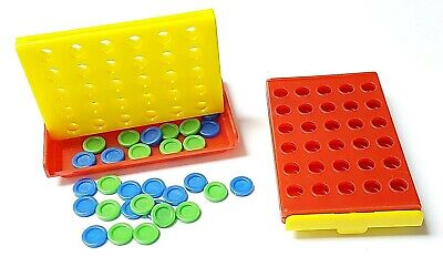 Connect 4 Line Travel Holiday Game Toy Boy Girl Kid Camping Party Novelty Pinata