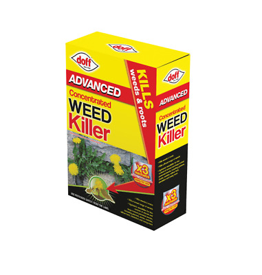 Doff Knock Down Super Strength Glyphosate Weed Killer - 3 Sachets