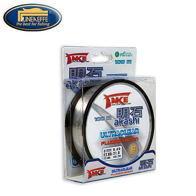 NYLON DE PECHE TAKE AKASHI ULTRACLEAR FLUOROCARBON 100 M Modèle: 0.12mm