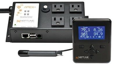 Neptune Systems Apex Jr. AquaController (Base Unit, Display & Temp Probe)