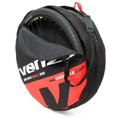 VENZO 600D Polyester Double Bike Bicycle 29er Wheel Bag