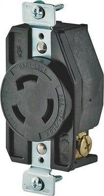 20a 3wire Gnd Lock Receptacle,No AHL/CWL1020R,  Cooper Wiring Devices Inc