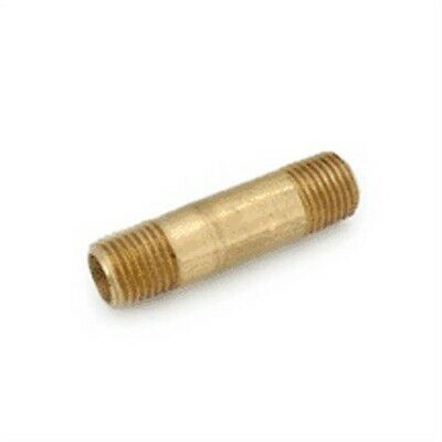 Pipe Nipple Brass 1/4 X 3,No 736113-0448,  Anderson Metals Corp