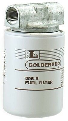 GOLDENROD Spin On Fulet Tank Filter, 2 pk, Part Num. 595 by Dutton Lainson Co