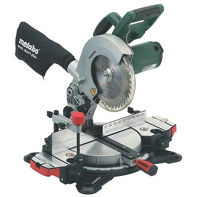 Metabo KS 216 M 1350W 216mm Crosscut Laser Mitre Saw Drop saw