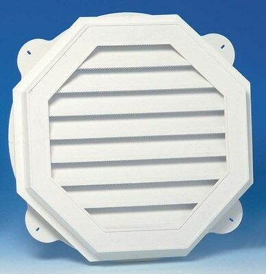 Gable Vent 22in Wht Octgn Vnyl,No 626060-00,  Canplas Inc