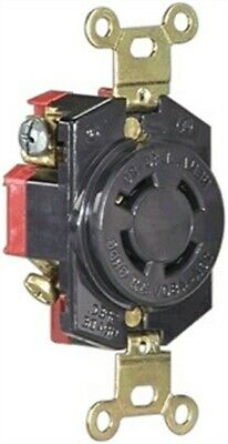 20a 3wire Gnd Lock Receptacle,No L620R,  Cooper Wiring Devices Inc