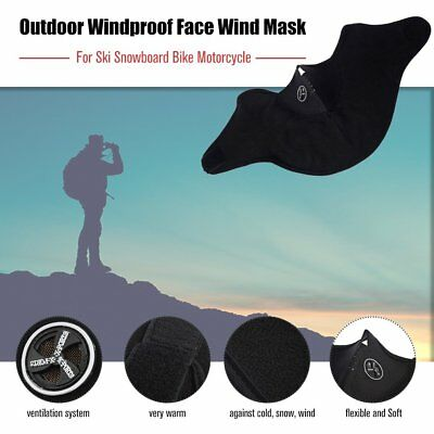 Face Wind Mask Veil for Ski Snowboard Bike Motorcycle Hiking Neck Warm AO