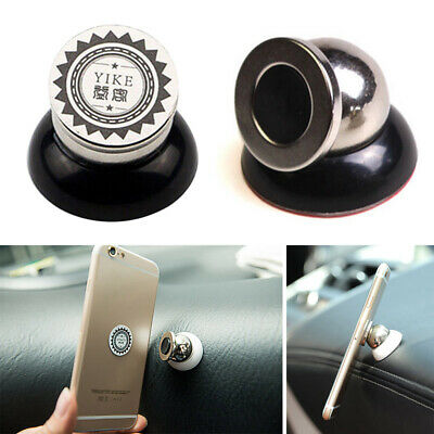 New Universal 360° Car Sticky Magnetic Stand Holder Mount for Mobile Phone GPS