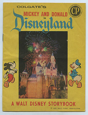 1966 Colgate Palmolive Mickey & Donald Give Away Disney Royal Show Storybook L95