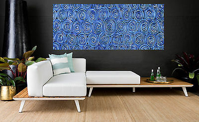 "Art  Painting  71"" x 32"" original landscape modern Australia not aboriginal"